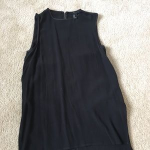 Tops - Black Tunic. Forever 21 size medium.